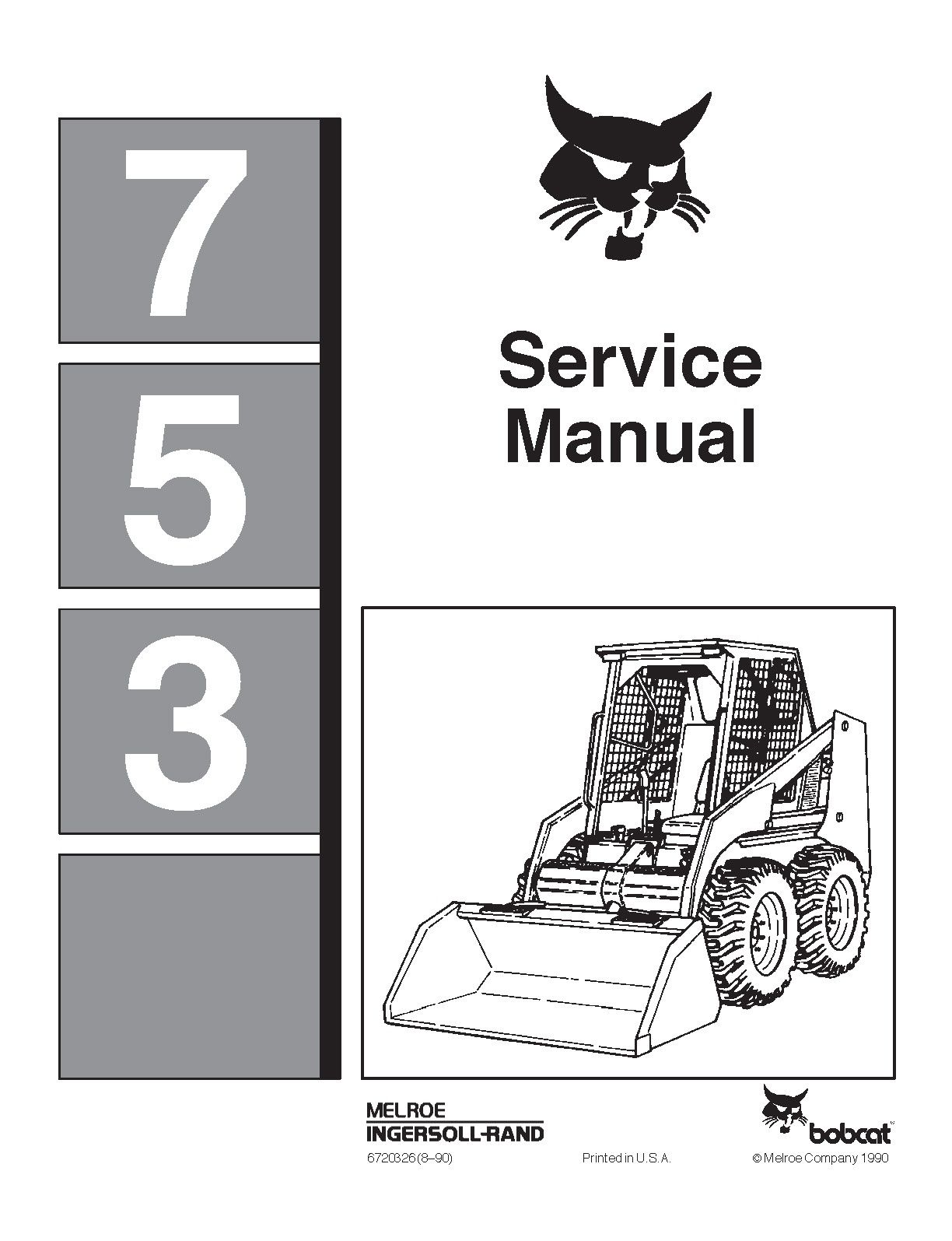 medium resolution of bobcat 753 alternator wiring diagram wiring diagram fuse box u2022 bobcat 743 engine 743