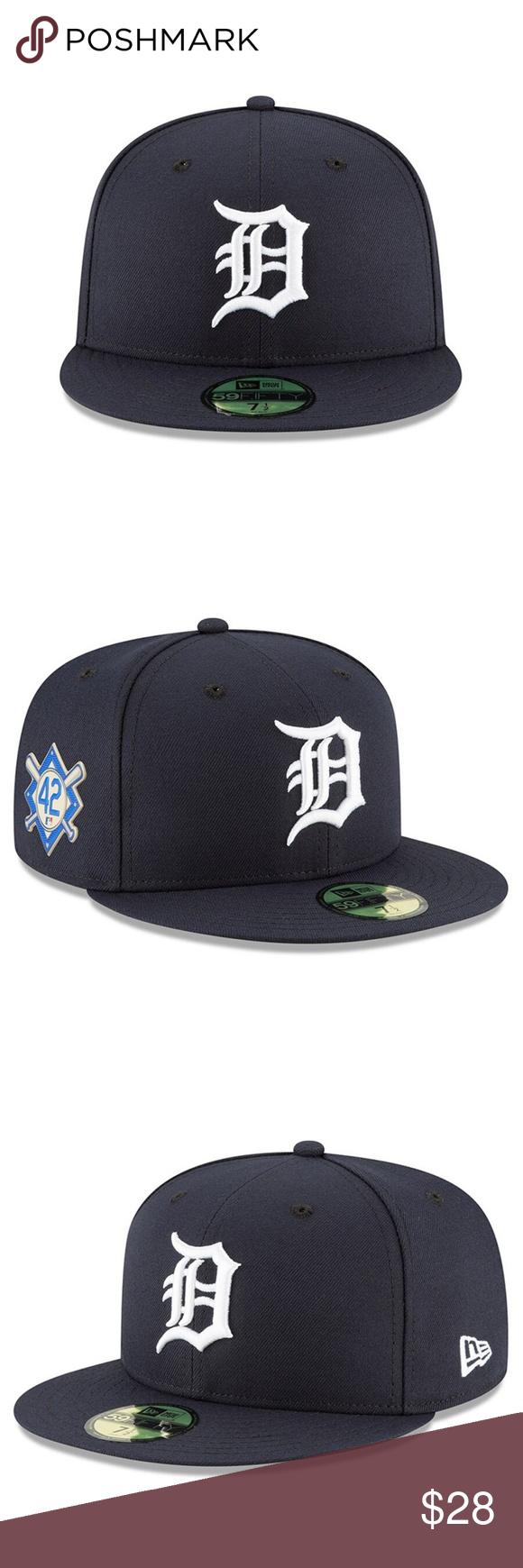 New Era 59fifty Detroit Tigers Jackie Robinson New Era 59fifty Jackie Robinson Detroit Tigers