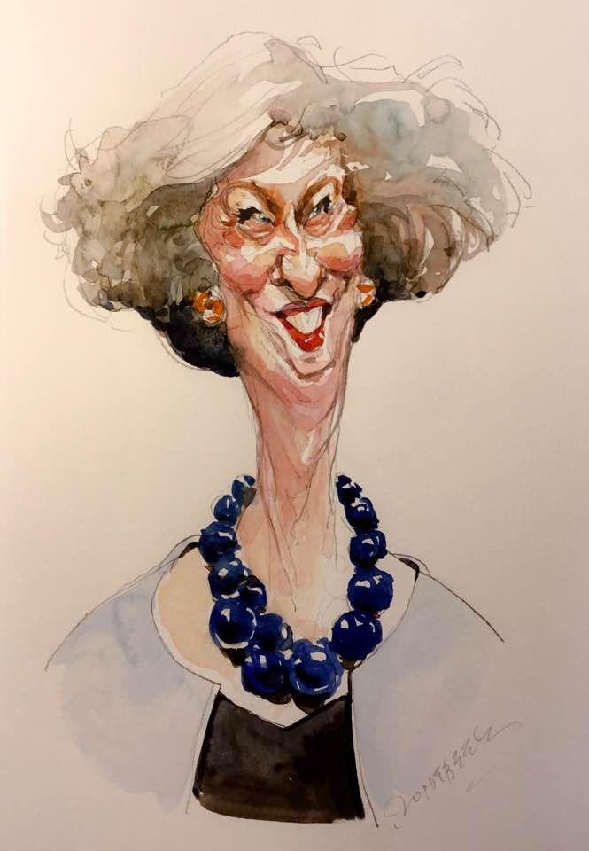 Resultado de imagen para Caricaturas de Theresa May