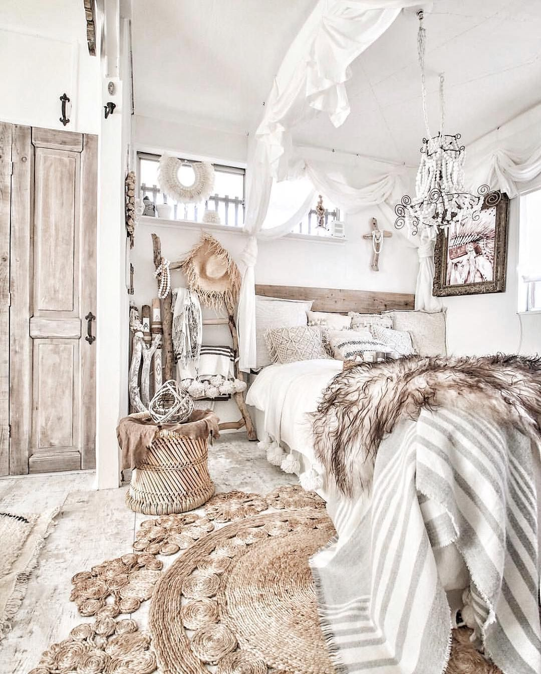 Bohemian Bedroom Decor Ideas Ou Have The Flexibility To Pick From A Number Of Shades That Would Certainly Modern Rustic Bedrooms Rustic Bedroom Bedroom Decor