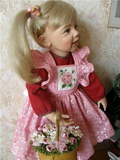 Знакомтесь, коллекционная кукла от Gotz Карина! Sissel Skille, коллекция 2008