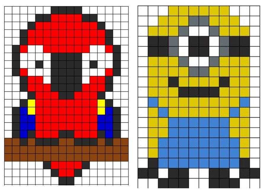 Afficher Limage Dorigine Pixel Art Pixel Art Minecraft