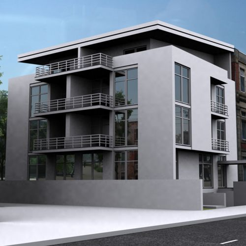 4 story building design google search a block ideas for Apartment database design