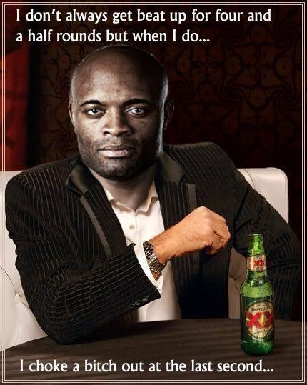 Anderson Silva Mma Ufc Sean Connery Meme Make Me Laugh Funny Me