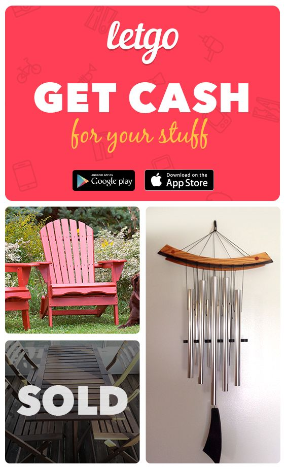 Spotted today on letgo! Browse bargains or get cash for