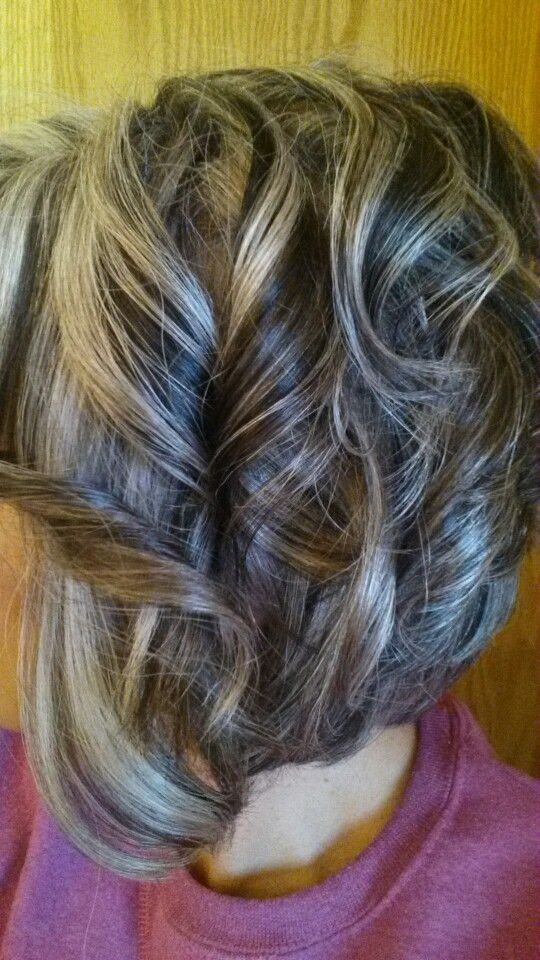 Styles On The Grand Haircuts Gray Hair Highlights