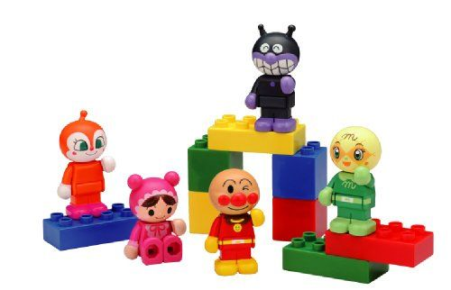 Anpanman Block Doll Play Set In Conjunction With The Lab Block Blocklabo Anpanman Block Check Out This Great Product Doll Sets Doll Play Playset