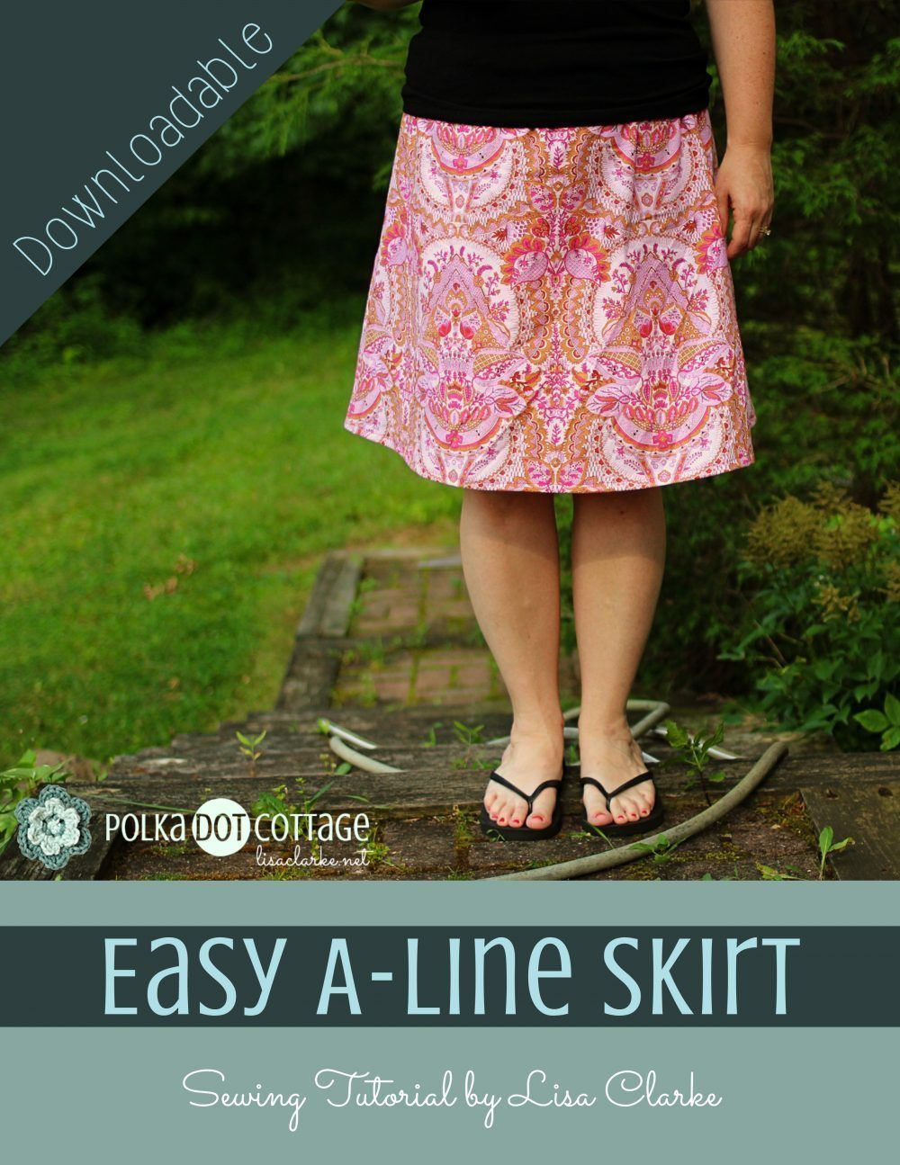 Easy A-Line Skirt Sewing Pattern -   11 DIY Clothes Skirt english ideas