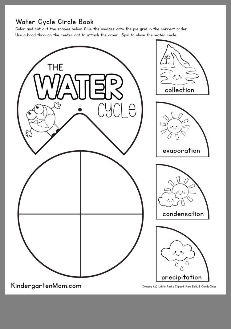 Pin By W On Water Water Cycle Worksheet Water Cycle Water Cycle Activities