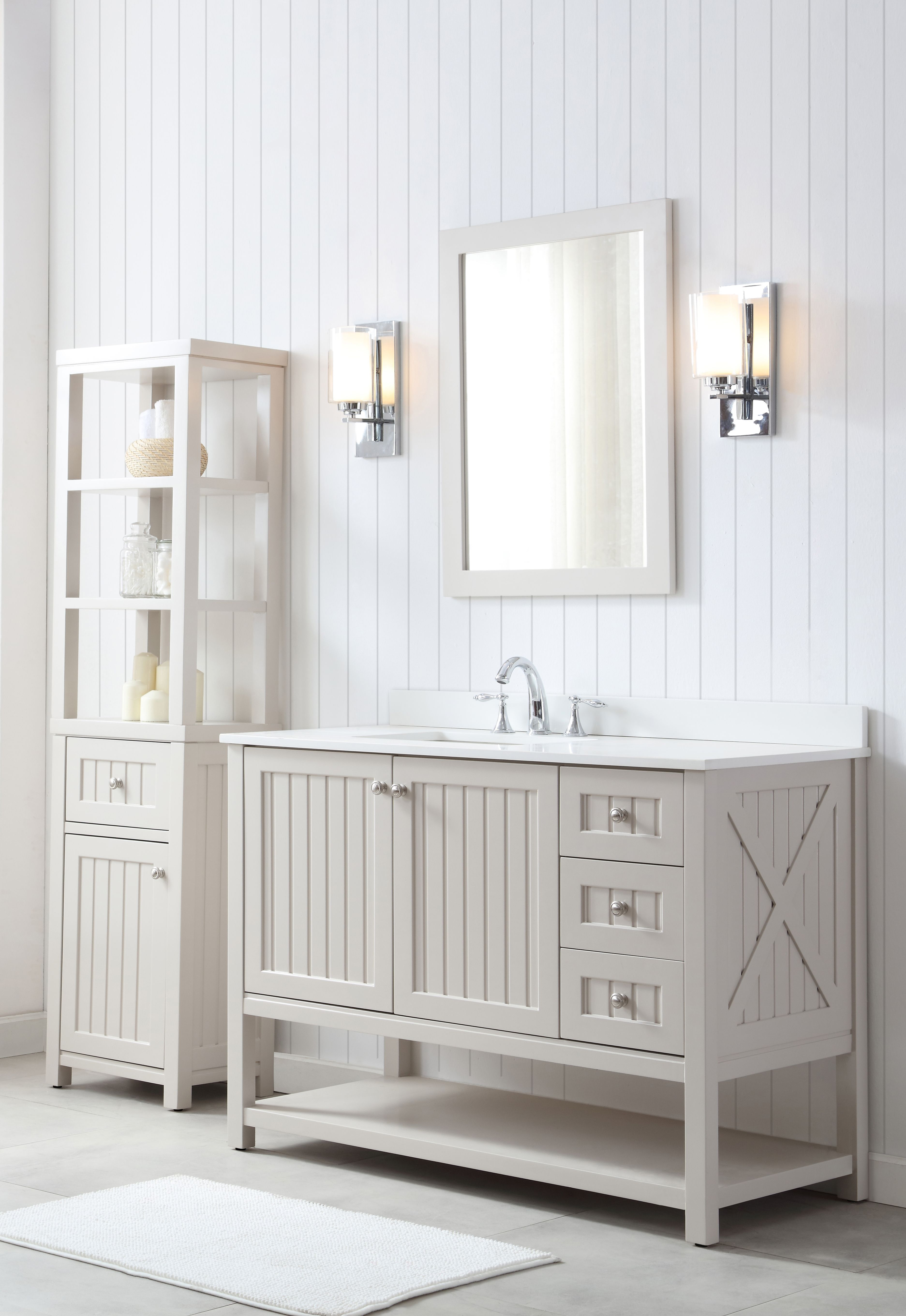 Martha Stewart Bathroom Vanity | Add A Touch Of Charmng New England To Your Bathroom With Our All