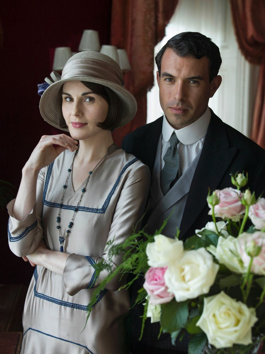 """Lady Mary Crawley & Tony Gillingham, """"Downton Abbey"""".  (But everyone knows there really is no replacement for Matthew.)"""