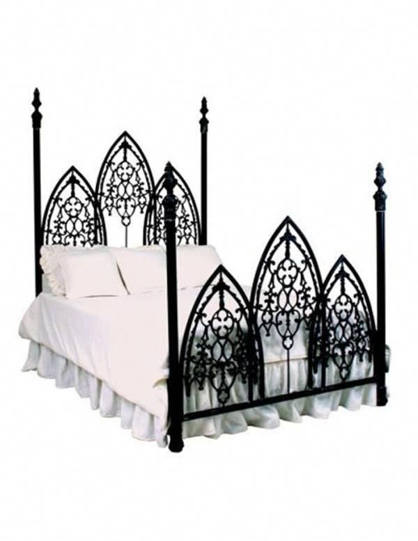 Photo of FRENCH GOTHIC IRON BED (QUEEN)