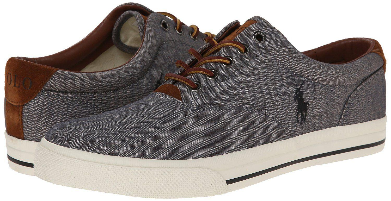 cbe504bf877a Amazon.com  Polo Ralph Lauren Men s Vaughn Fashion Sneaker  Shoes ...