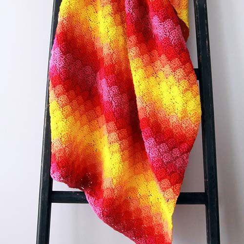 Harlequin Crochet Blanket Pattern | Selber machen, Stricken und Häkeln