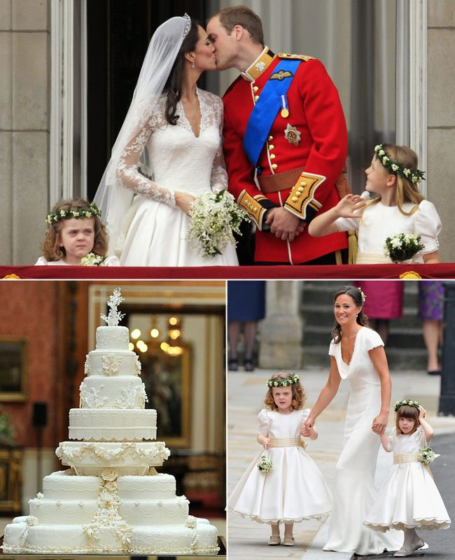 Prince William and Kate Middleton #Celebrity #Wedding