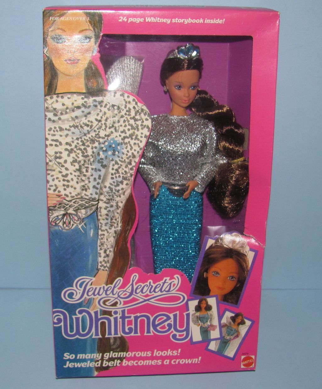 i saved my money for 2 months to buy this doll. it was  $18.00 when i was in elementary school