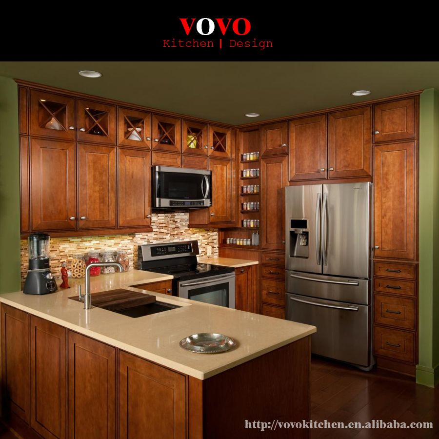 Teak Wood Kitchen Cabinet With Large Island In Kitchen Cabinets From Black Kitchen Decor Kitchen Cabinets Kitchen Style