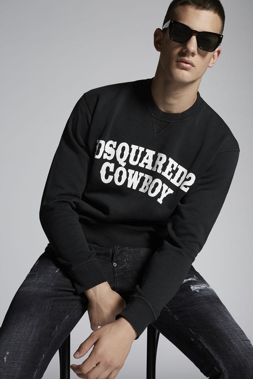 03d176c88dd11e DSQUARED2 Cowboy Sweatshirt Sweatshirt Man | SWEATSHIRTS ...