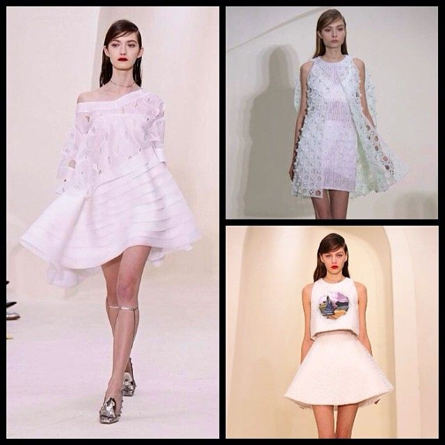 Dior couture SS14 #love #instagood  #picoftheday  #beautiful #igers  #white #new #fashionshows #instapic #paris #pfw #haute #couture #dior #rafsimons #design #légèreté #fashionweek #vogue #mode #fashion #transparence #broderie #makeup #Padgram