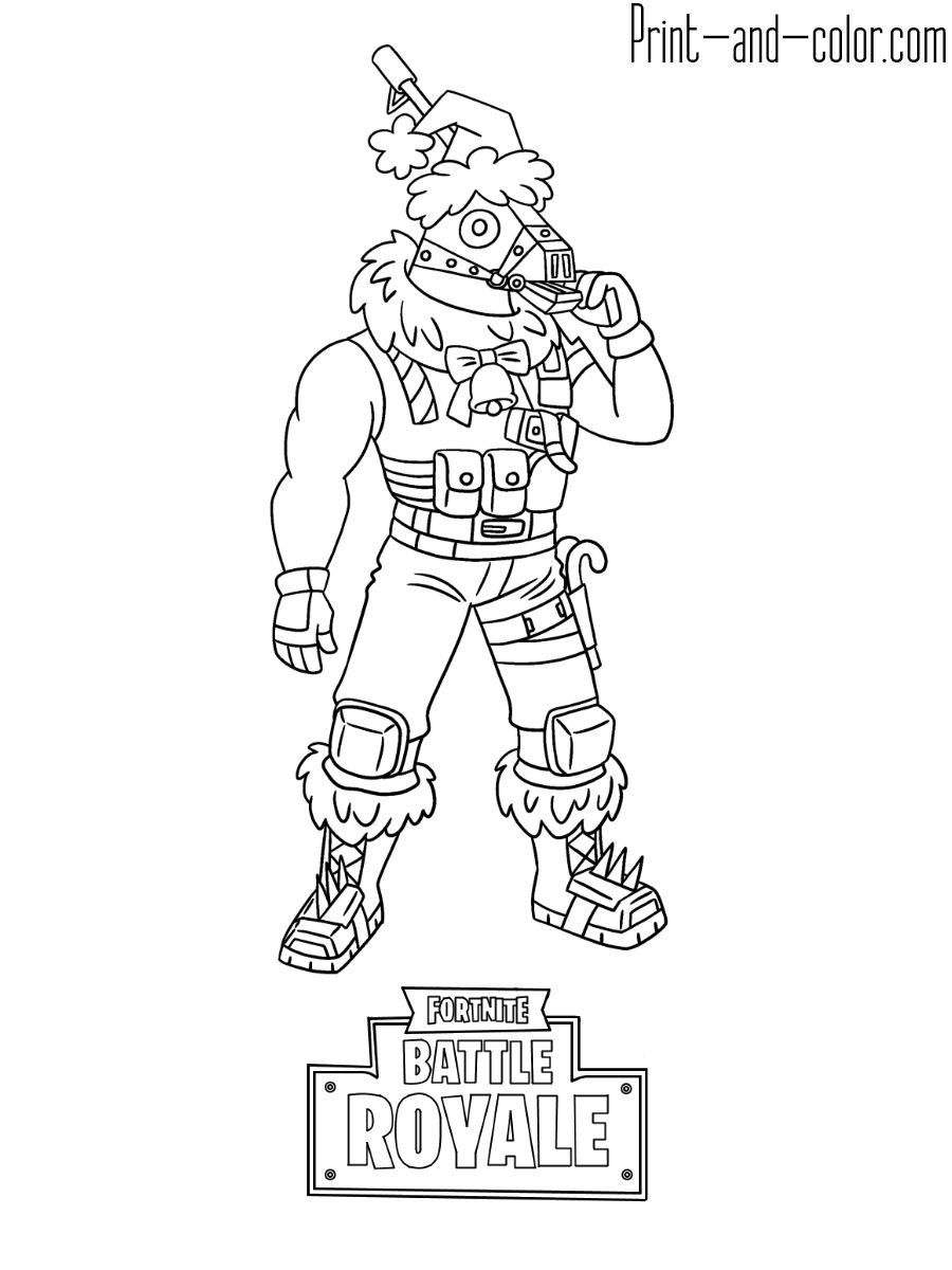 34++ Coloring pages for boys fortnite ideas