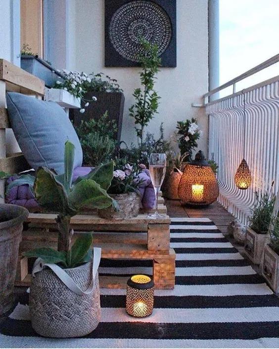 Photo of Inspirierende Balkonideen für kleine Wohnung. – Homedecor # inspirierende Gärt…