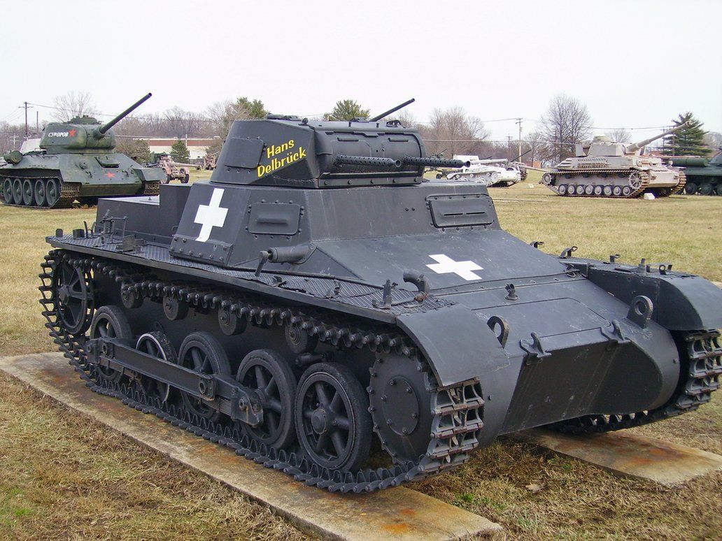 Panzer I Ausf B At The Aberdeen Tank Museum In Maryland USA By - German museums in usa