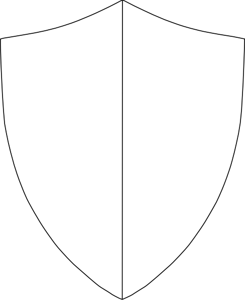 Split Coat Of Arms Clip Art Clip Art Free Clip Art Shield Template