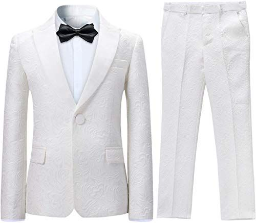 Lycody Boys Vest Set Formal Dress Suits Wedding Outfit Dresswear