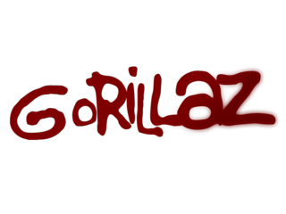 Gorillaz Logo Photo 1 Gorillaz Lettering Photo Logo