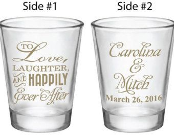 Wedding Favors Shot Glasses Mr Mrs Heart New 2017 By Factory21