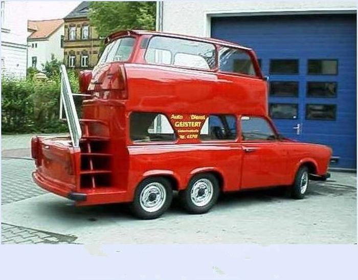 Trabant Tuning Car Funny Trabant Trabant Tuning Pinterest