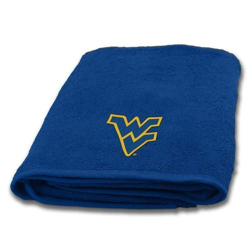West Virginia Mountaineers Bath Towel