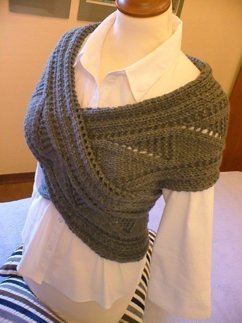 PDF Pattern ORIGINAL DESIGN  by Pilland-Horizontal shoulder/ back/ neck/ warmer scarf sweater