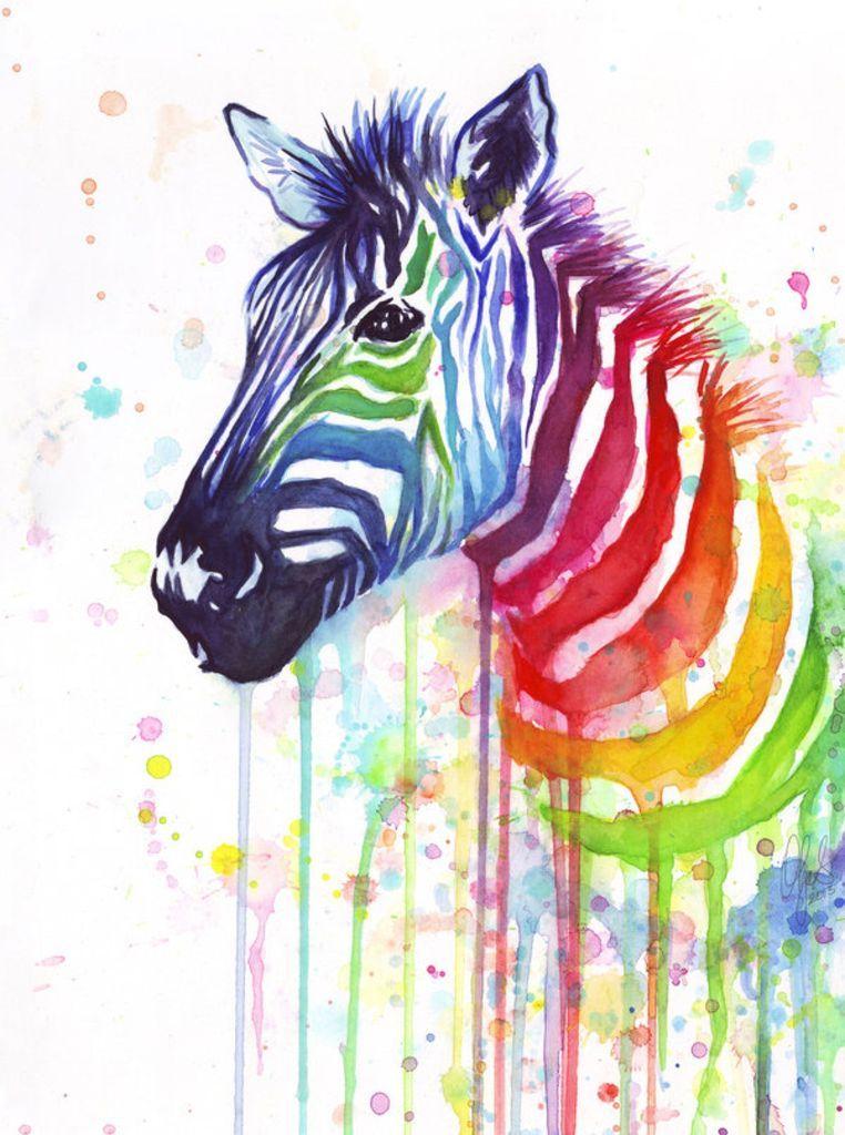 Animal Zebra Diy Paint By Numbers Pbn90459 In 2020 Zebra Art