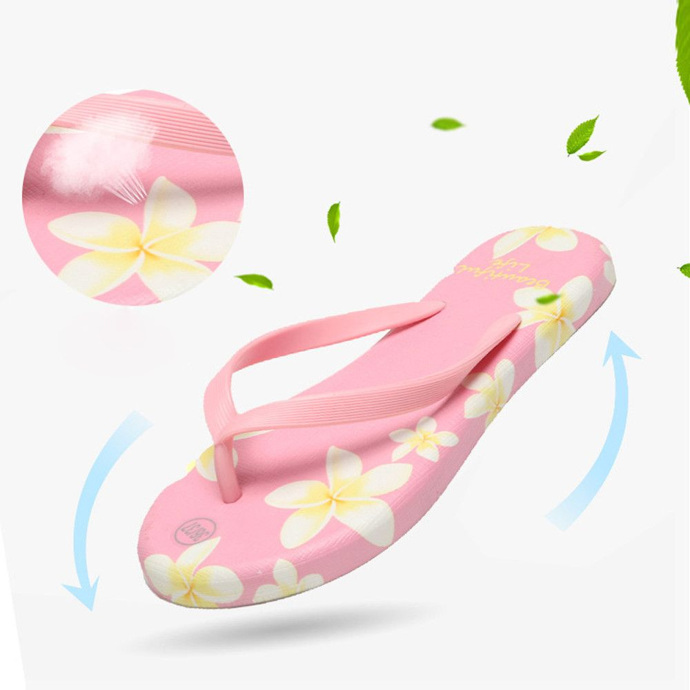 Click To Casual Slippers Women Summer Fashoin Female Sandals Flip Flops Sandy Beach Bathroom Cooler Las Shoes Tongs Femme Ete Affiliate