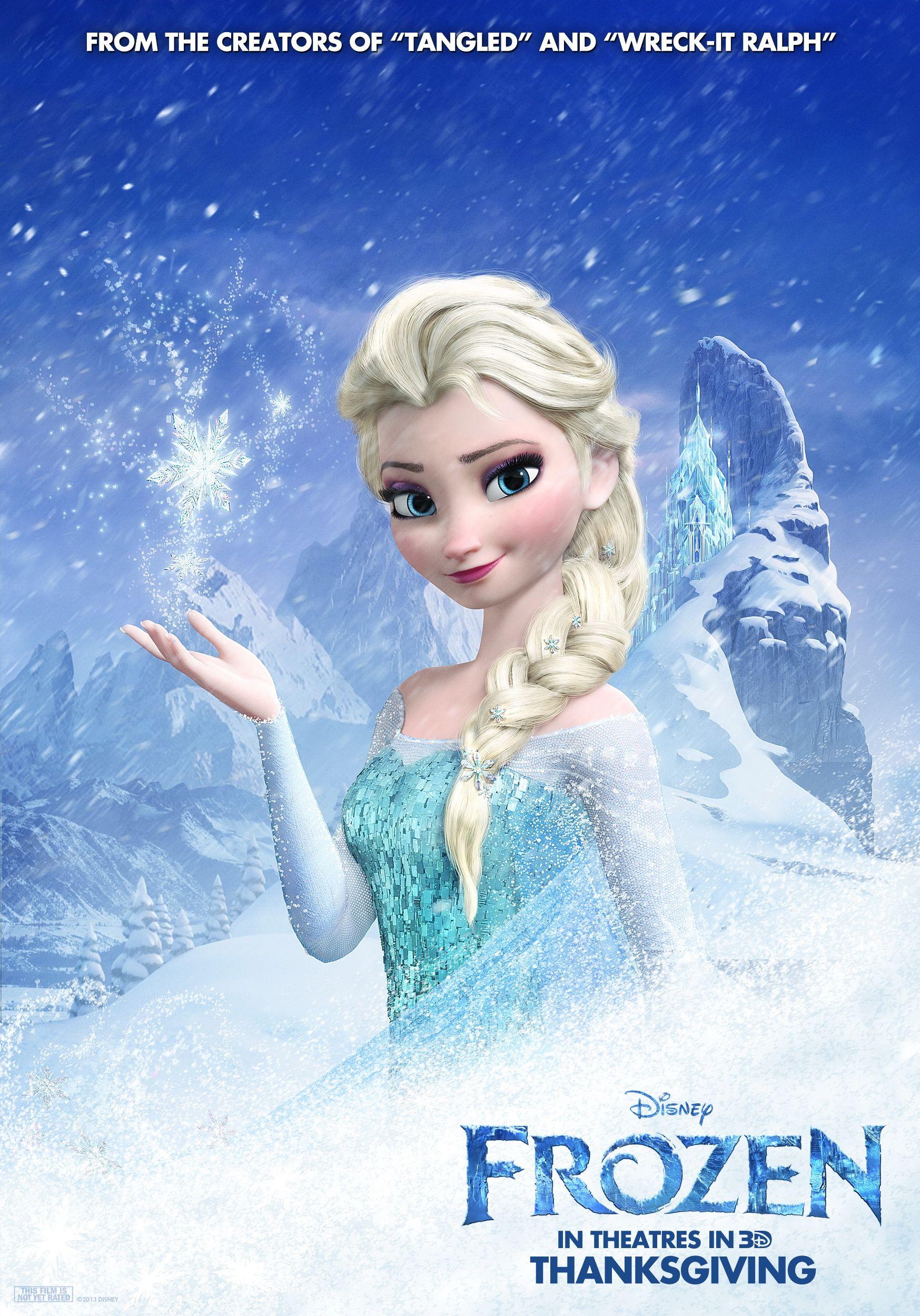 Elsa Gallery Frozen Poster Frozen Hintergrundbild Disney