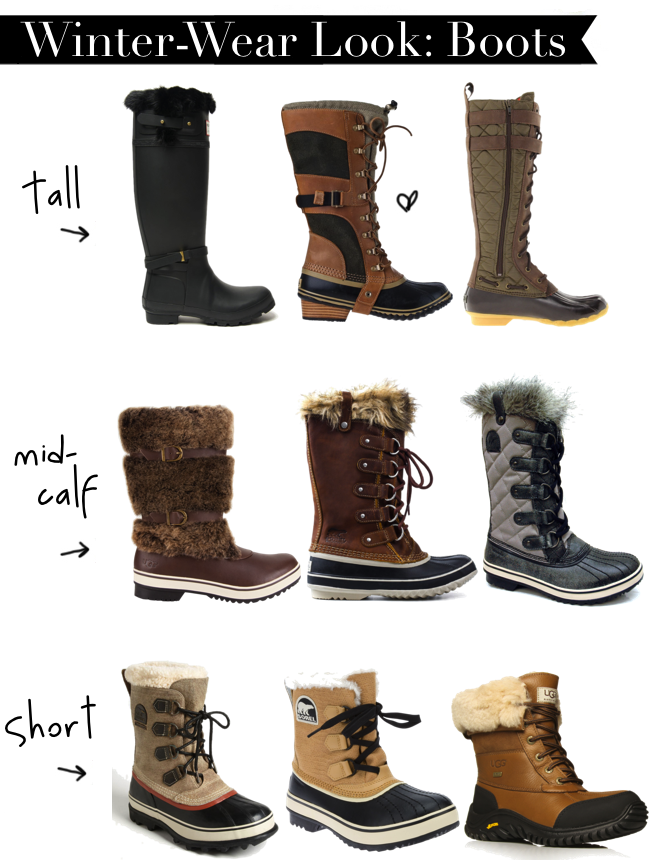Fashion 101: Cold Weather Boots | Cold weather boots, Cold