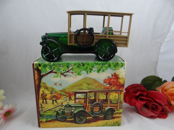 MIB Vintage Avon Aftershave Station Wagon by SecondWindShop
