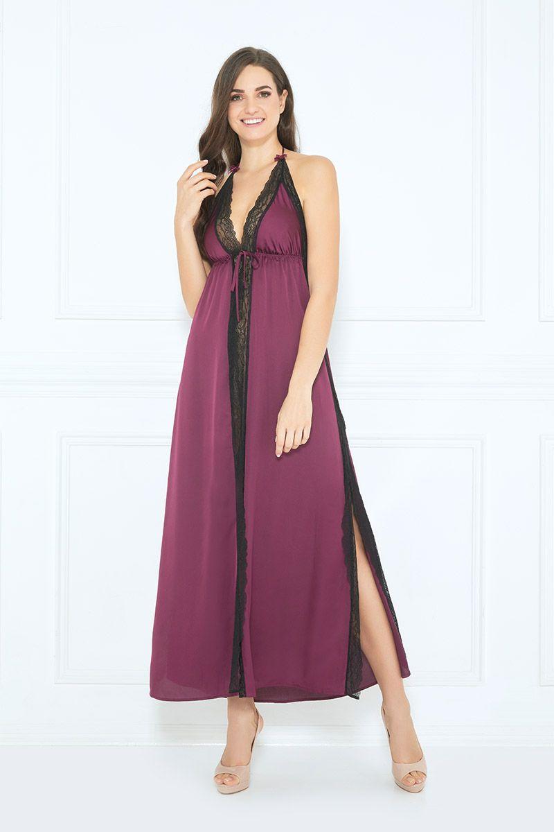Aggrappina Long Dress Long Dress Bridesmaid Dresses Nightwear