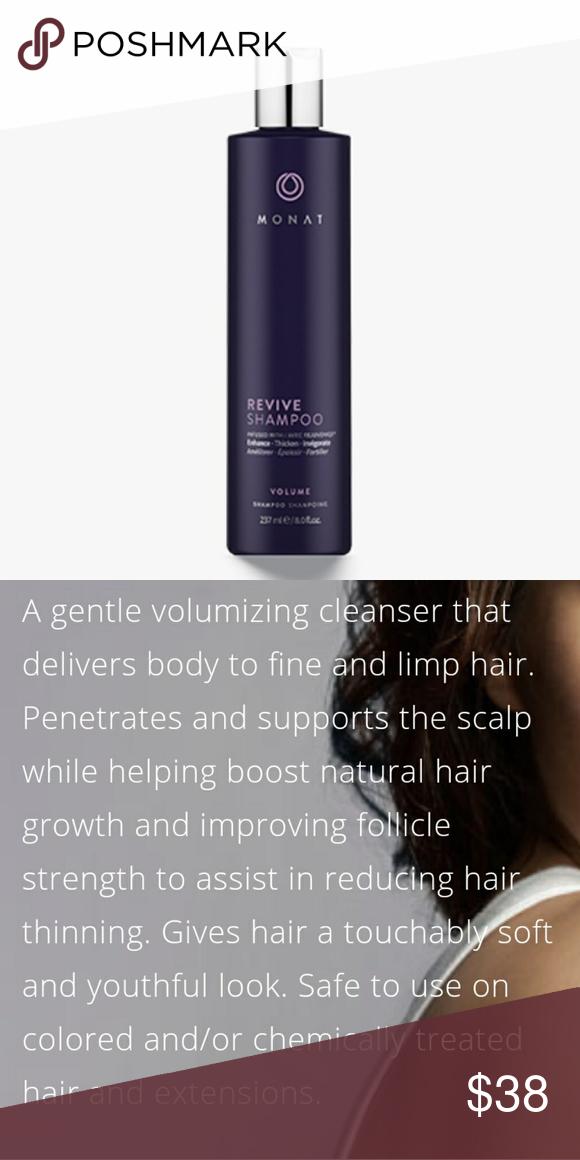 Monat Revive Shampoo Hair density, Shampoo, Natural hair