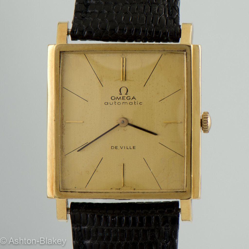 Omega Solid 18k De Ville Vintage Watch