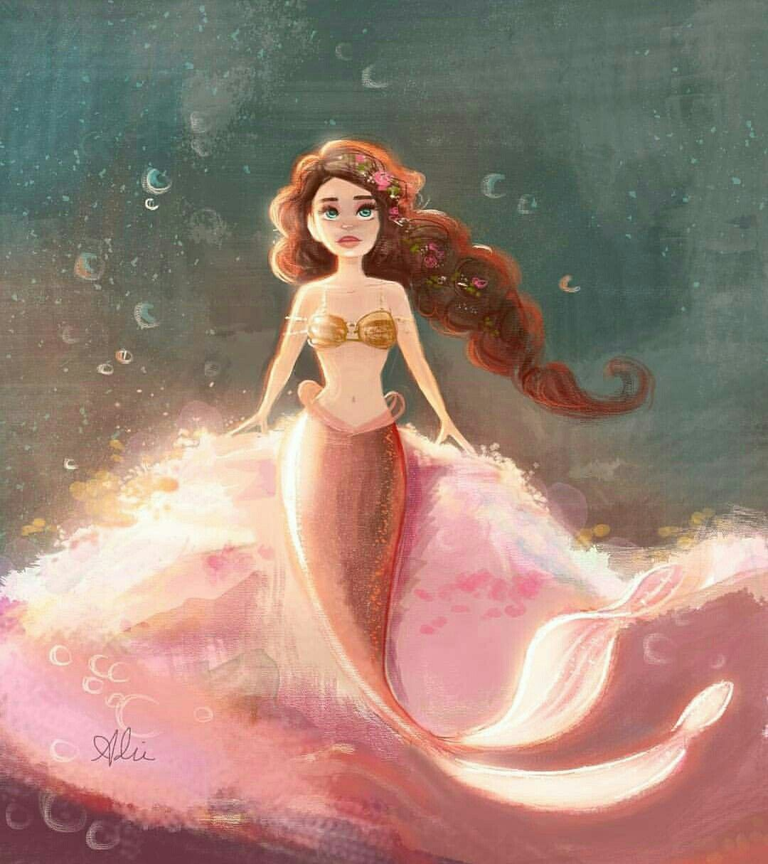 Beautiful Mermaid Drawing Tips Tattoo Project Merfolk Art Mythical Creatures Pisces Ariel Unicorns