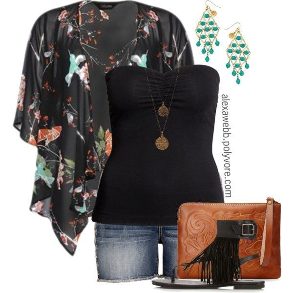 0fa95e1bb Plus Size - Kimono III in 2019 | My Plus Size Outfits from Polyvore ...