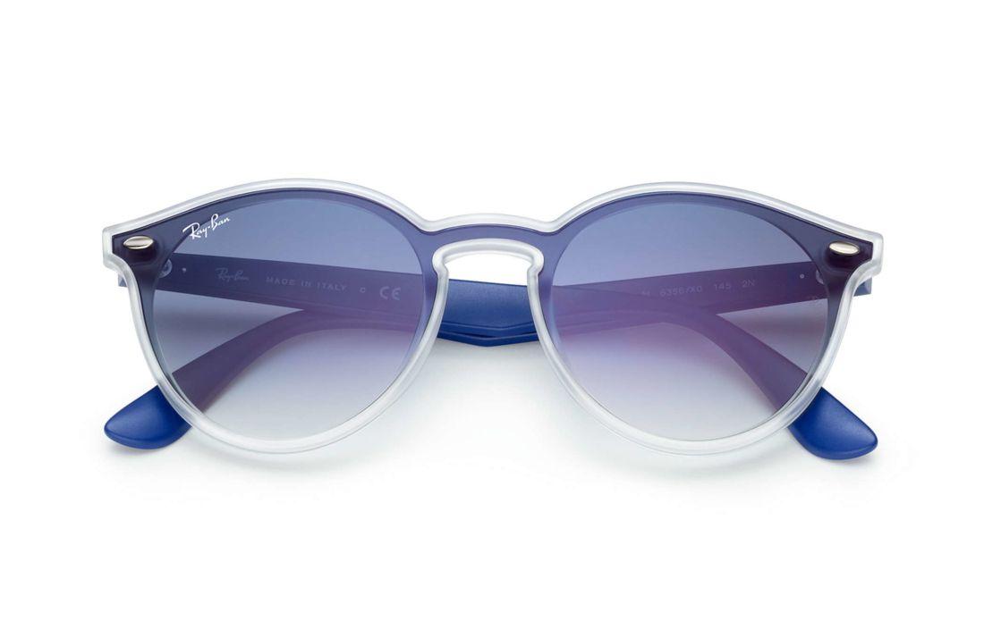 68bc84743 Óculos De Sol Ray-Ban Blaze RB4380N Azul   Products   Ray bans ...