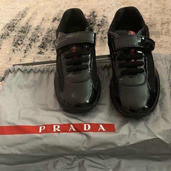 Authentic Prada kids sneakers in 2020