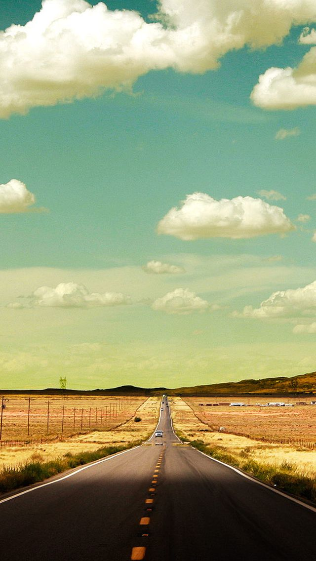 Shiprock Road iPhone 5s Wallpaper Enter my website to