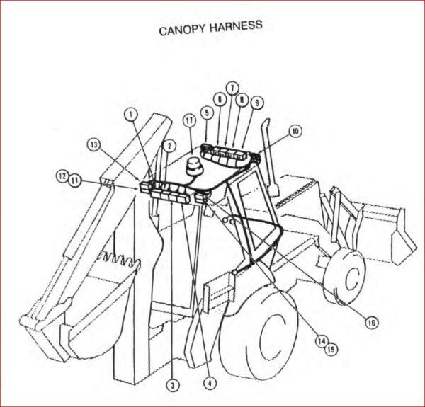 Case 580sk Tractor Loader Backhoe Shop Manual Tractor Loader Backhoe Tractors