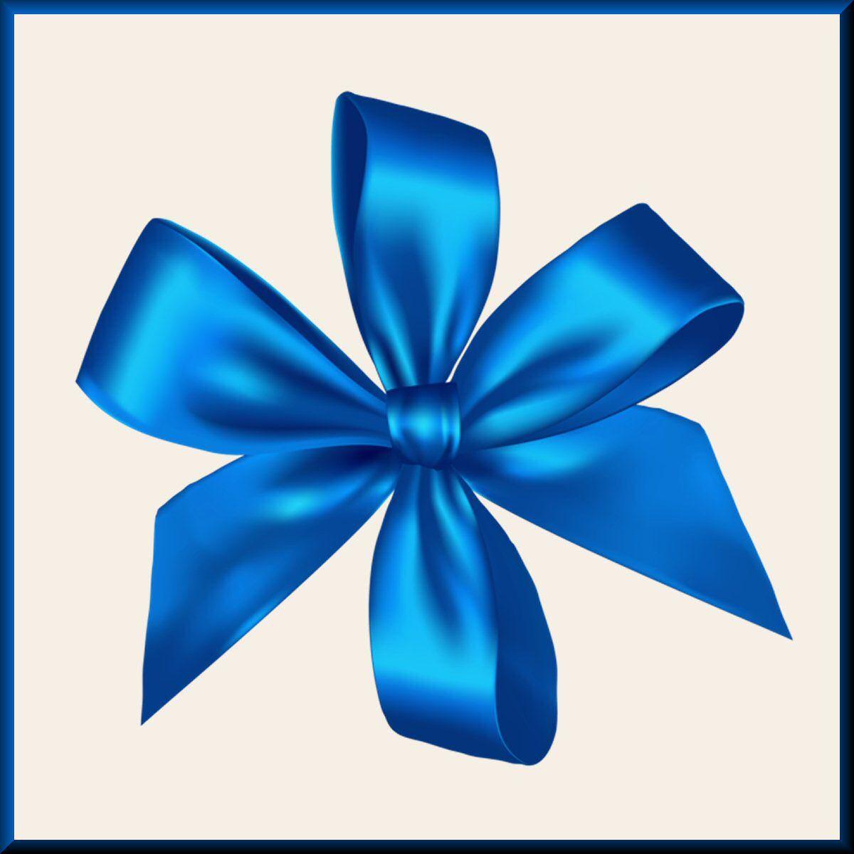 Silence Ribbon Png Clip Art Blue Ribbon