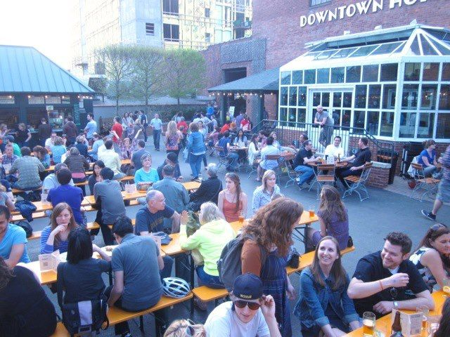 Bill 39 s beer garden ann arbor mi on the southside of dowtown home and garden on ashley next for Ann arbor beer garden