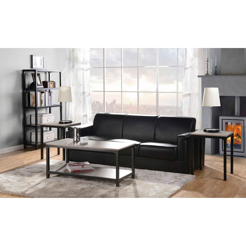 Homestar 3-Piece Coffee Table & Side Table Set : Target